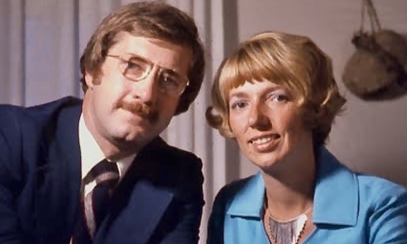Bob and Edie Green in the early 1970s